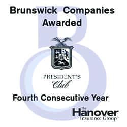 Brunswick Companies Appointed to The Hanover's President's Club